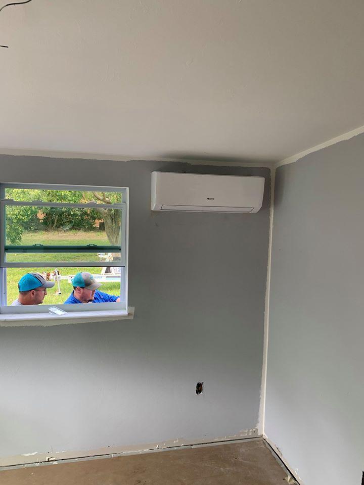 Mini-split air conditioner installation Cape Coral.