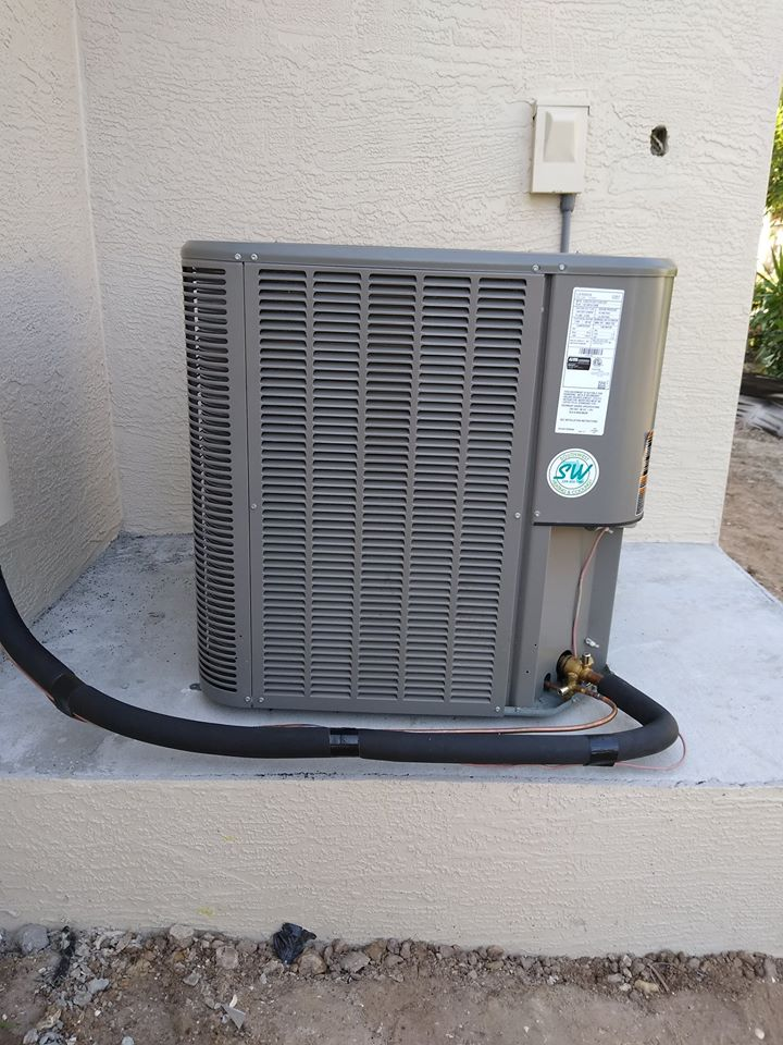 Cape Coral air conditioning installation.