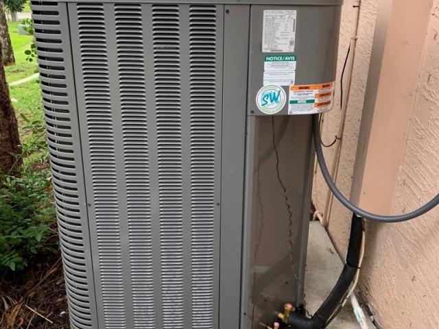 Condenser installation Bonita Springs, Fl.