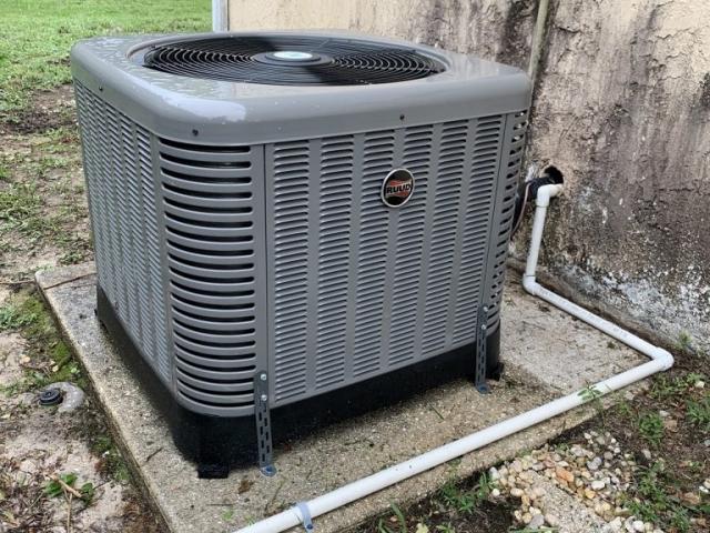 AC Condenser Replacement in Cape Coral, Florida