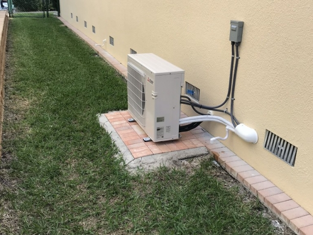 Mini-split air conditioner installation Cape Coral.