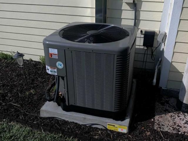 Cape Coral AC replacement condenser