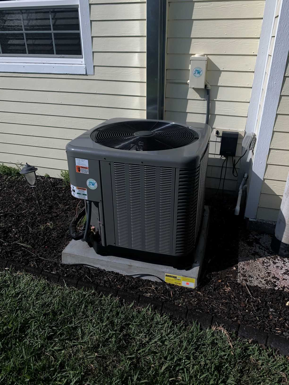 Cape Coral AC replacement condenser