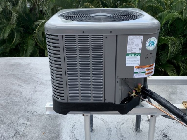 Roof AC Replacement