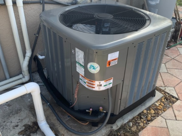 Fort Myers Condenser Installation