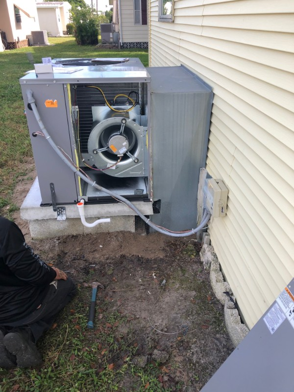 Pine Island Outdoor Packaged Air Conditioner Replacement